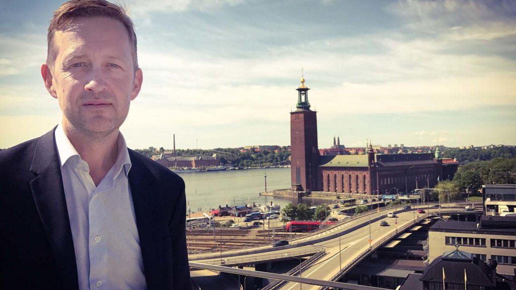 Johan Victor leder kursen Change Management