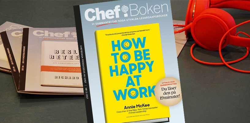 Chefboken How to be happy at work