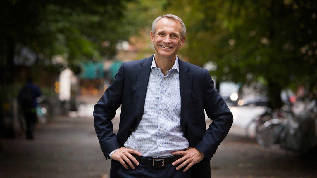 Svenske Jonas Prising leder världsföretaget Manpower Group.