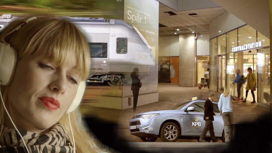 Framtidens jobbresa med tåg