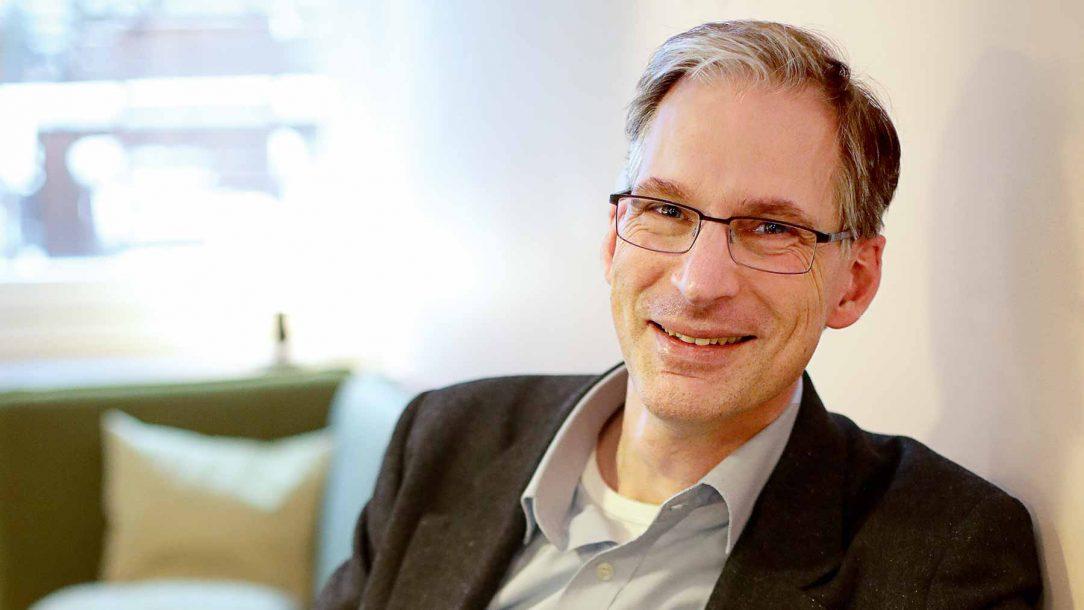 Johan Oljeqvist, årets mångfaldschef på Chefgalan 2018.