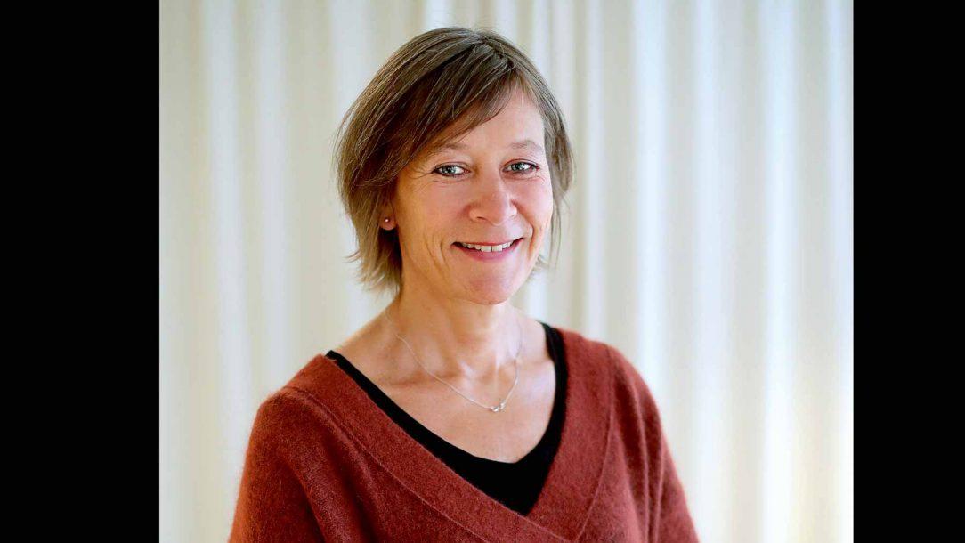Silvia Ernhagen, årets digitaliseringsledare på Chefgalan 2018.