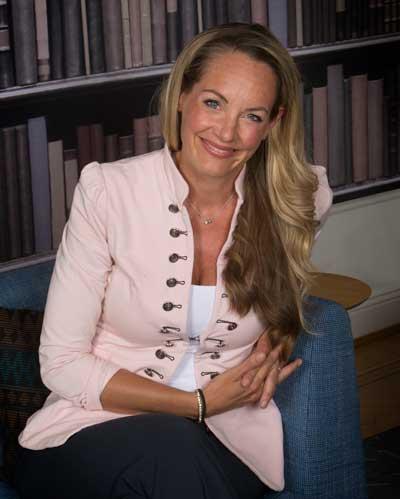 Lisa Gunnarsson, Nordenchef Linkedin. Foto: Martina Huber