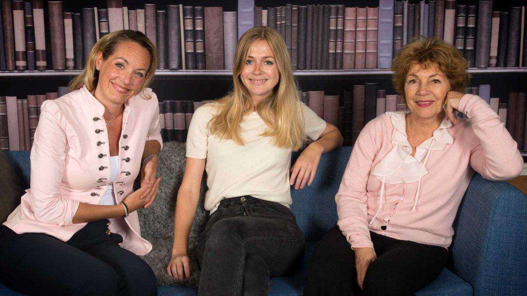 Lisa Gunnarsson på LinkedIn, Bodil Sidén på Uber och Amelia Adamo