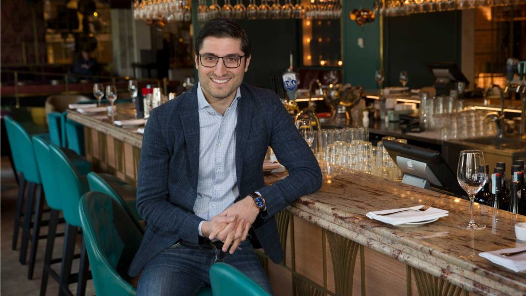 George Glor, Food and Beverage Manager på Scandic Stora Hotellet i Nyköping