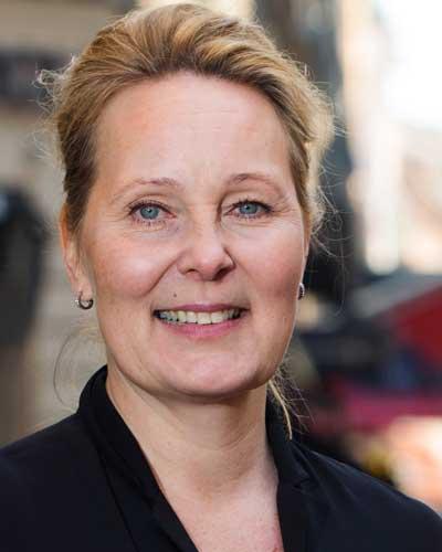Janet Eriksson, Ledarnas arbetslöshetskassa Foto: Martina Huber