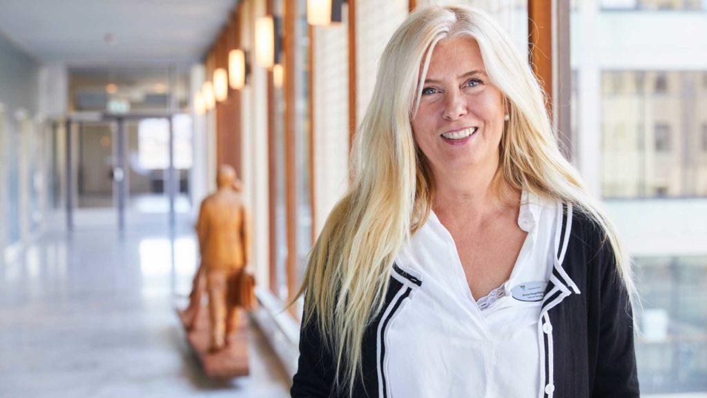 Anne Hagelberg, rekryteringskonsult Foto: Pia Nordlander