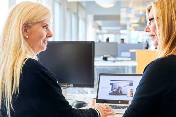 Arbetsförmedlingens nya digitala hr-plattform ger möjlighet till bland annat snabba videointervjuer.