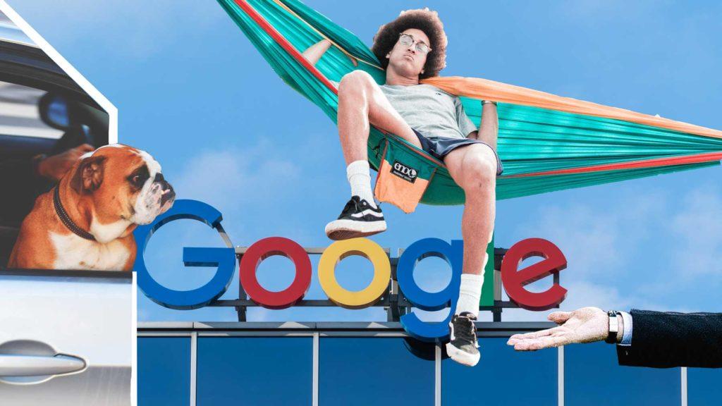 Google - en drömarbetsplats för många unga.