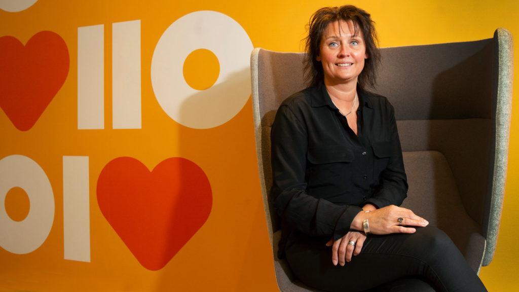 Kerstin Winberg på Randstad. Foto: Martina Huber