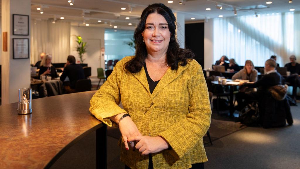 Bort med stressande och kostsamma slösmöten tycker Sylvia Nylin, på Svenska Möten. Foto: Martina Huber