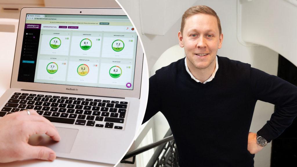 Bli en bättre chef – med AI. Carl Jacobsson på Winningtemp berättar hur det går till. Foto: Martina Huber