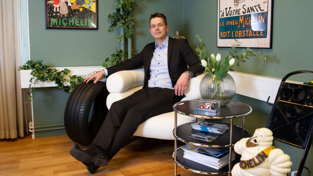 Erik Sundqvist, Michelin. Foto: Martina Huber