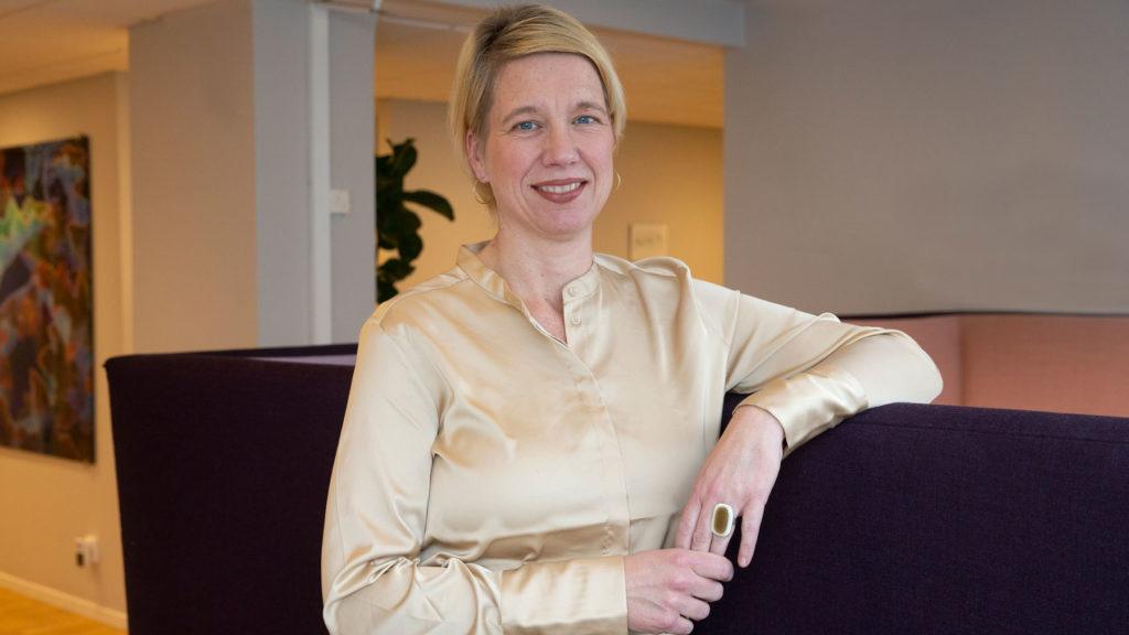 Gabriella Huss på K2 Search har fem råd till chefer som kört fast i karriären. Foto: Martina Huber