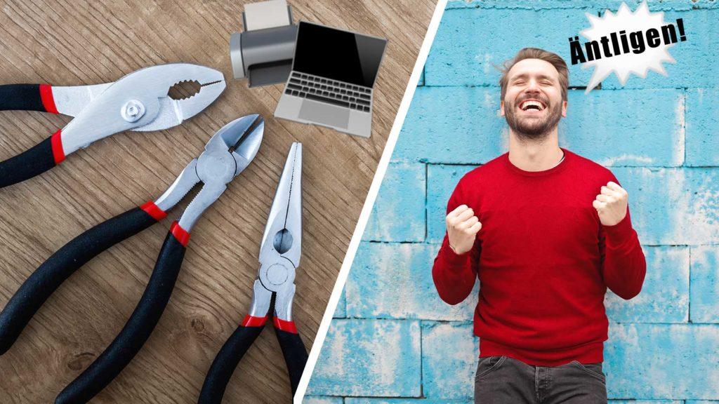 Rätt digitala verktyg lyfter arbetsmiljön.