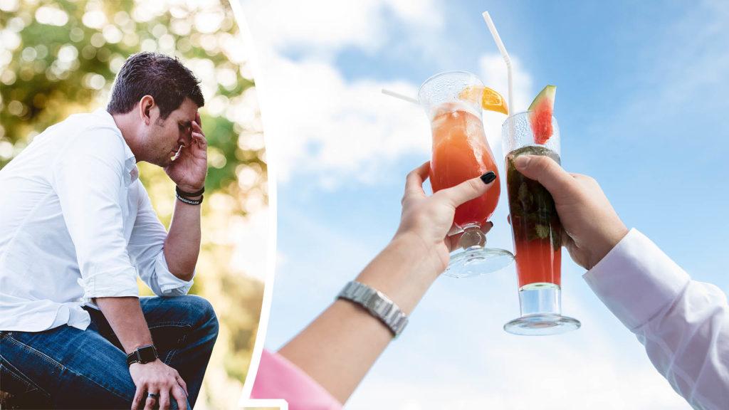 Hälften av svenskarna dricker mer på sommaren.