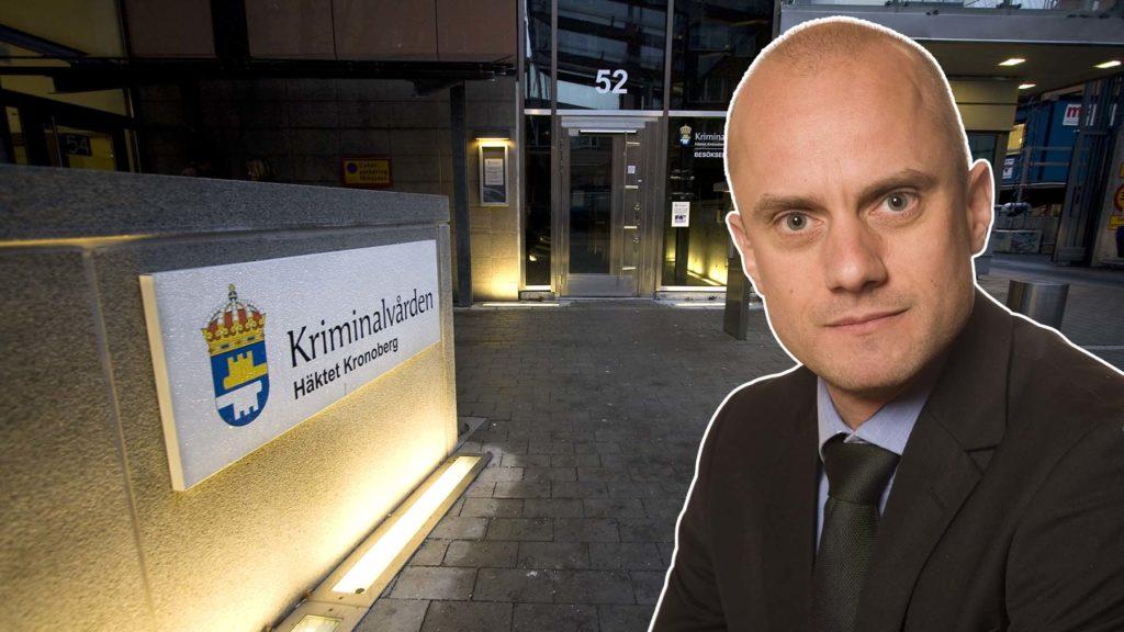 Fredrik Wallin är häkteschef på Kronobergshäktet.