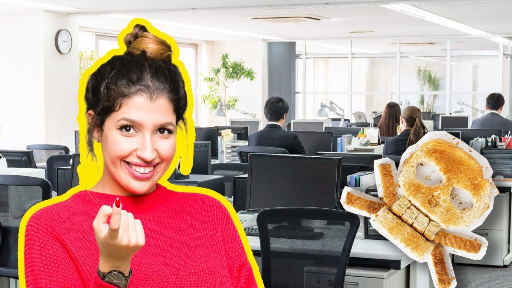 Lockad att stanna kvar på jobbet under falska premisser? Du kan ha blivit brödsmulad!
