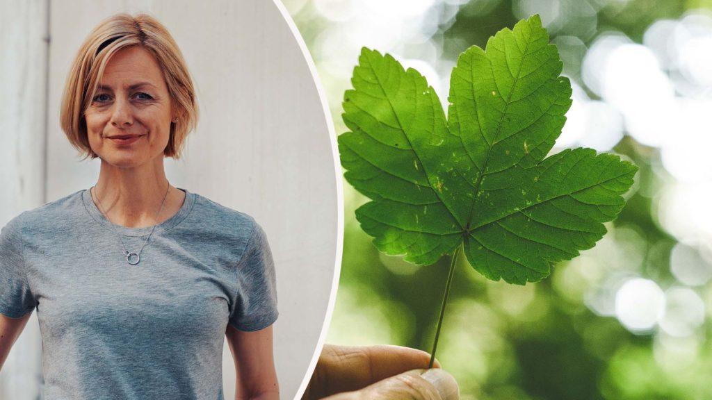 Johanna Giorgi, hållbarhetsansvarig på Tillväxtverket.