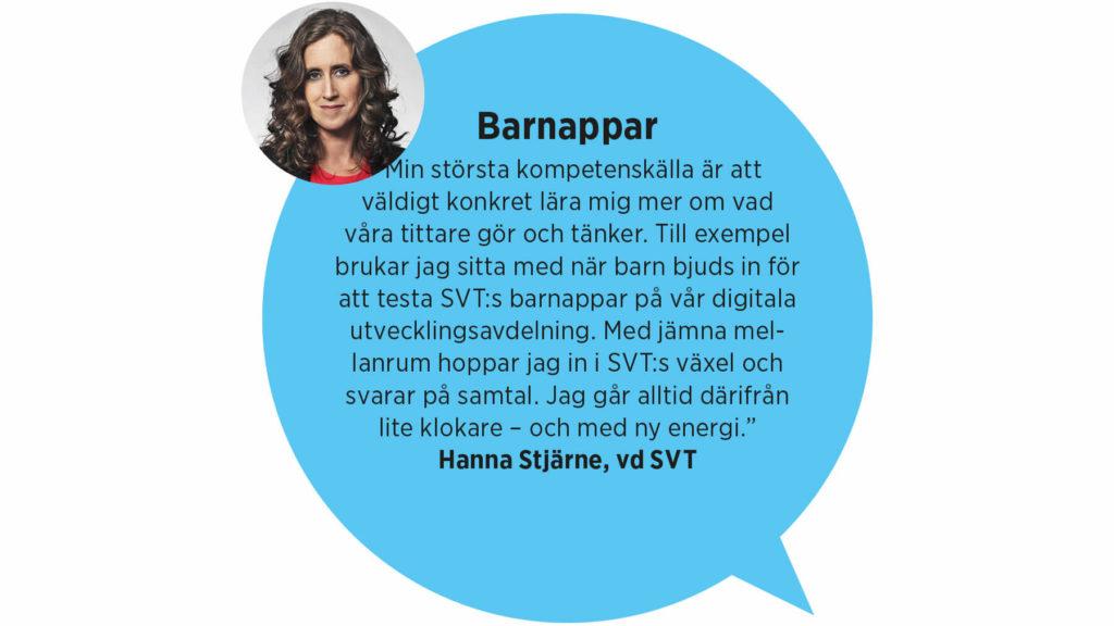 Hanna Stjärne, vd SVT: