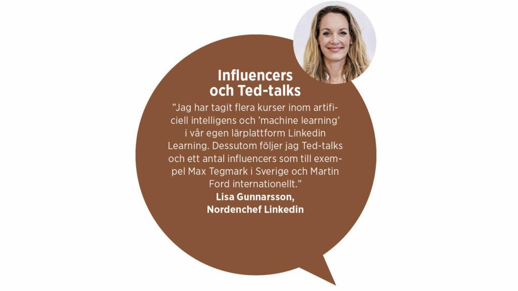 LIsa Gunnarsson Nordenchef Linkedin.