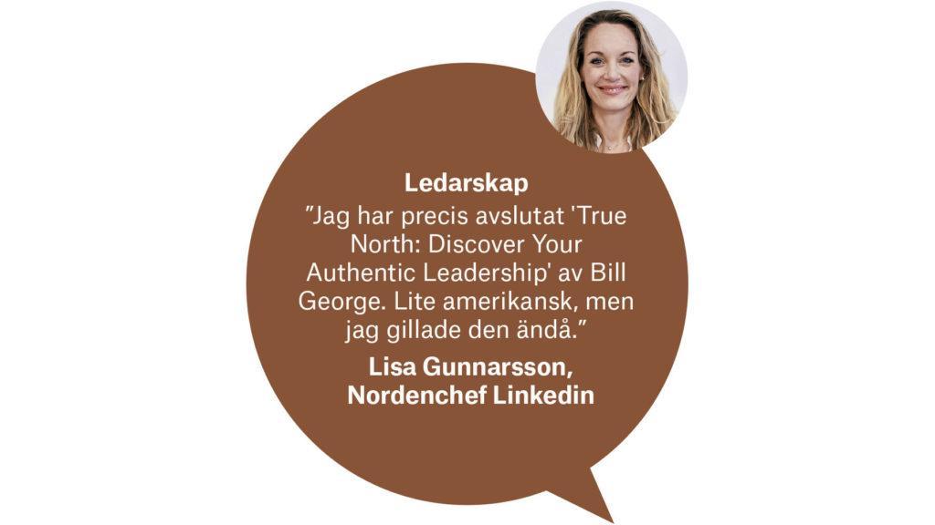 Lisa Gunnarsson, Nordenchef Linkedin