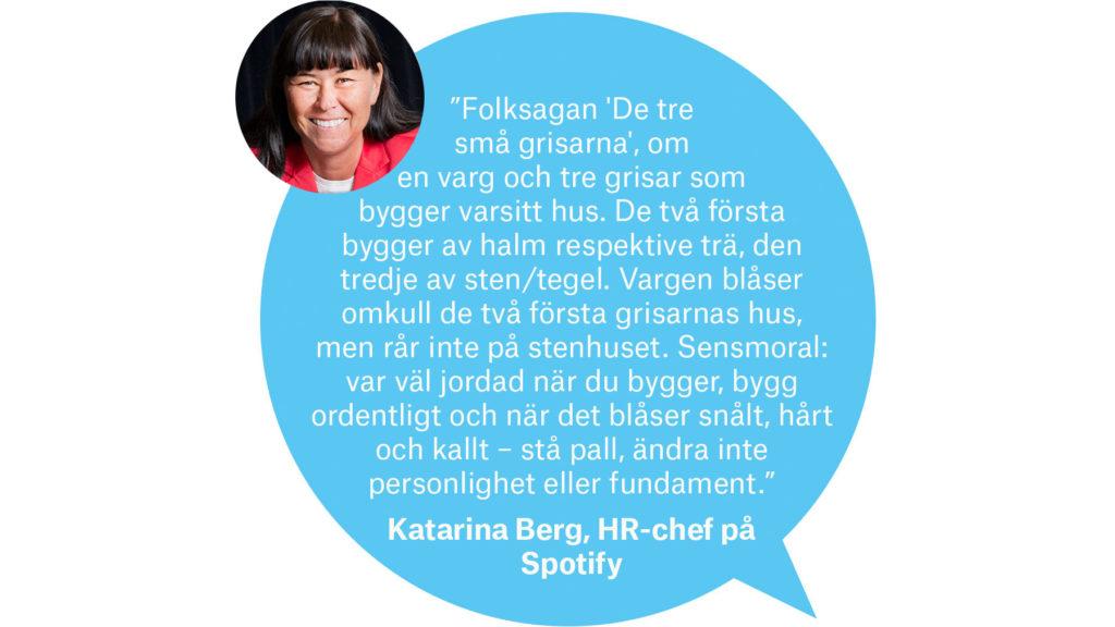 Katarina Berg, HR-chef, Spotify
