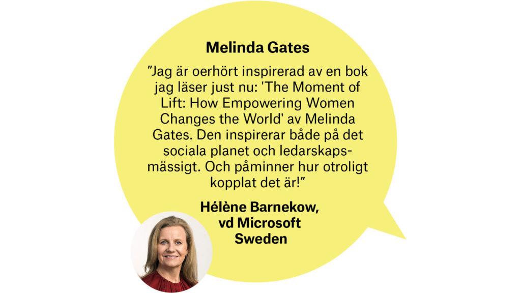 Hélène Barnekow, vd Microsoft Sverige