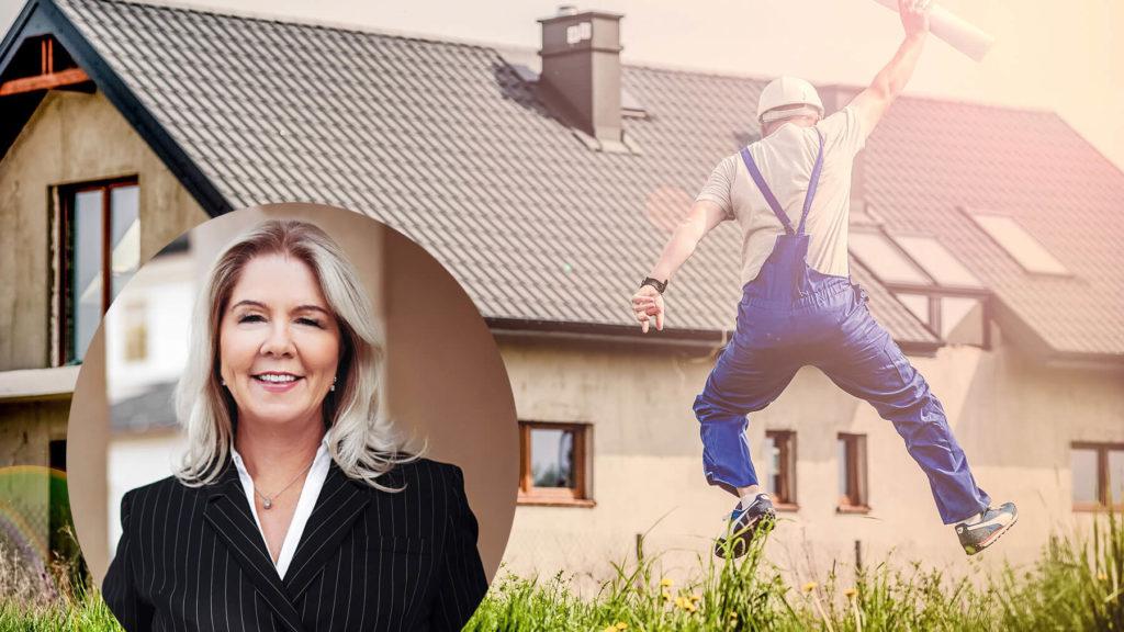 Collage: Christina Hammer från Hammer & Hanborg samt glad medarbetare