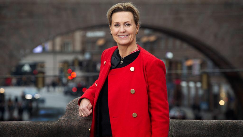 Viktoria Lindhé på &frankly berättar om frågorna som ger varningar om farlig stress. Foto: Martina Huber