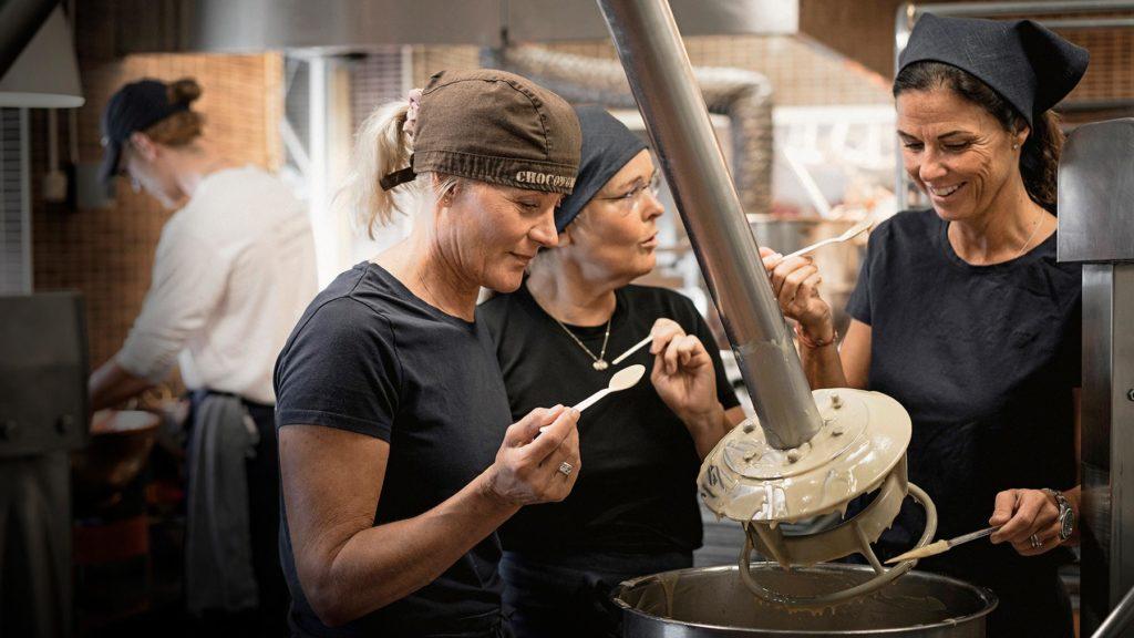 Chokladtillverkning i Åre Chokladfabrik