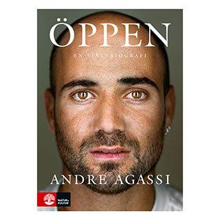 Omslag till boken Öppen: En självbiografi (André Agassi, Natur & Kultur)