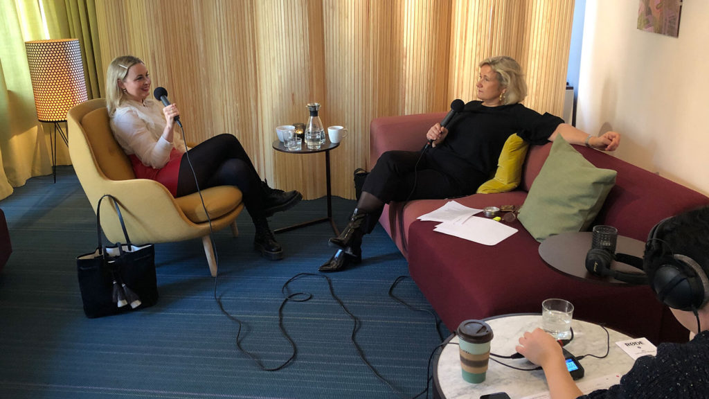 Linda Waxin intervjuas av Cissi Elwin.