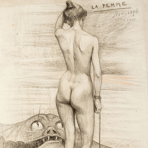 Tyra Kleen, La Femme,1896,©Riddarhuset.