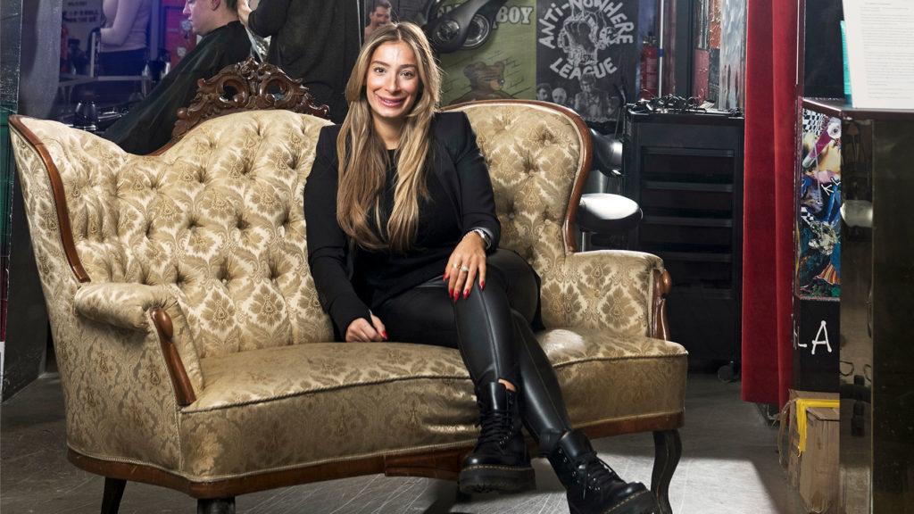 Joceline Akgun, vd på Creative Headz