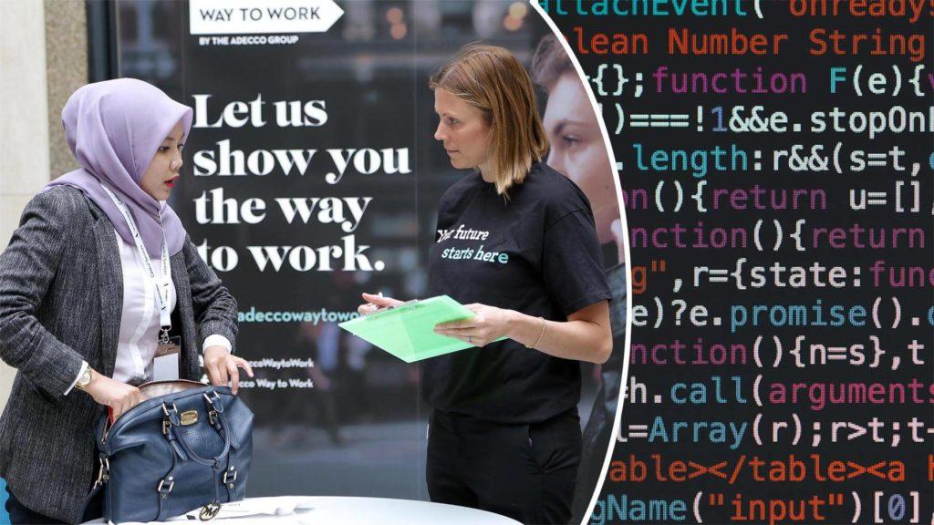 Bemanningsföretaget Adecco har åtagit sig att utbilda 5 miljoner människor inom digital kunskap före 2030.
