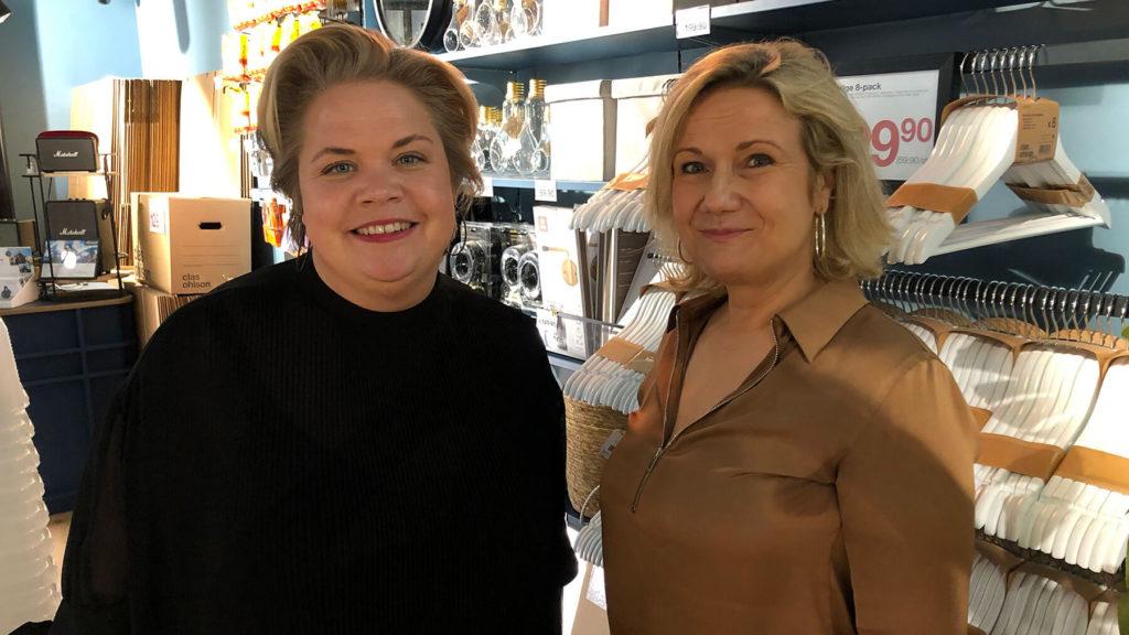 Lotta Lyrå intervjuas av Cissi Elwin för podden Chef Dilemma.