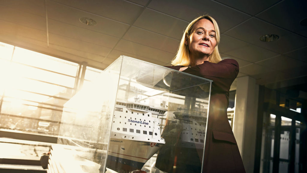 """""""Vi vill att vårt bolag bättre ska spegla samhället i stort"""", säger Stena Lines hr-chef Margareta Jensen Dickson."""