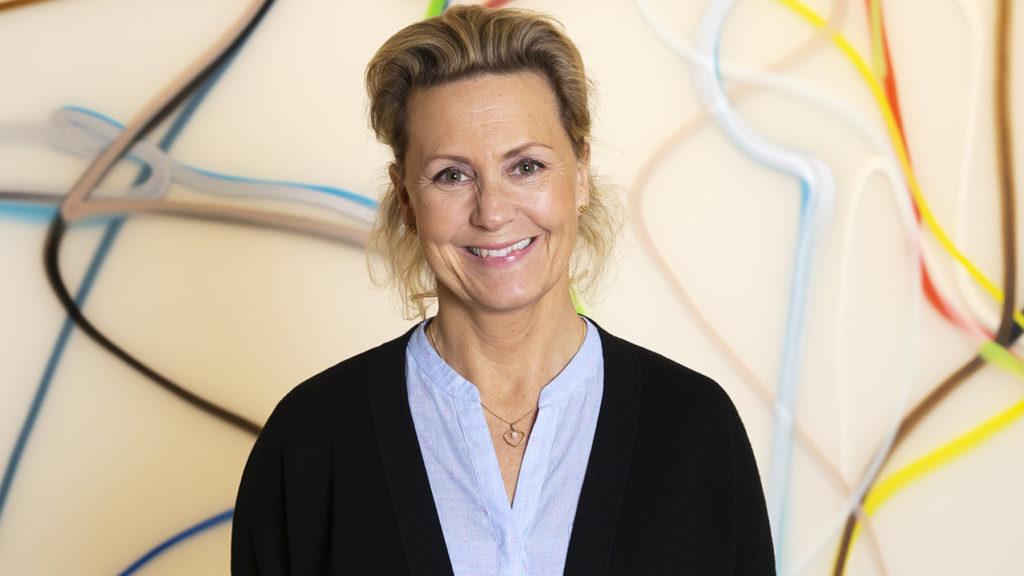Viktoria Lindhé på &frankly hjälper chefer reda ut samarbetstrassel. Foto: Martina Huber