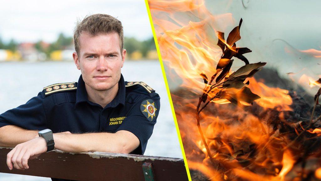 Johan Szymanski, Brandkåren i Norra Dalarna