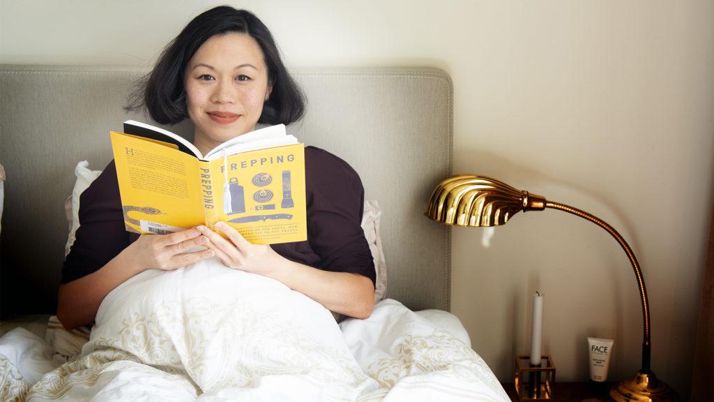 Nu är Jia-Chwen Wu kvitt sina svåra sömnproblem. Foto: Theresia Köhlin