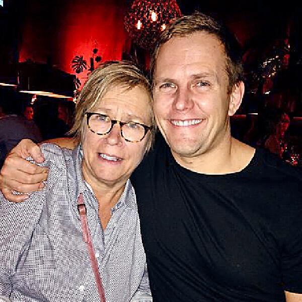 Rickard och hans mamma