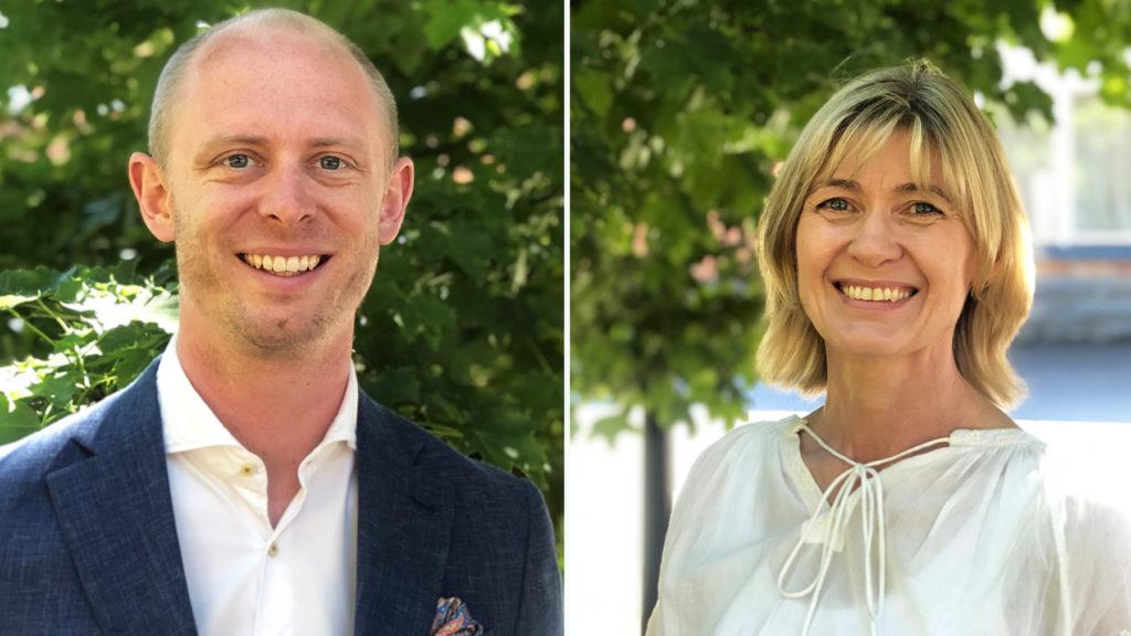 Sebastian Persson är manager på konsultbolaget Procure It Right. Carina Kjellberg är Nordenchef på veterinärläkemedelsbolaget Dechra Veterinary Products. Båda har nu slutfört sin Executive MBA på Stockholms universitet.