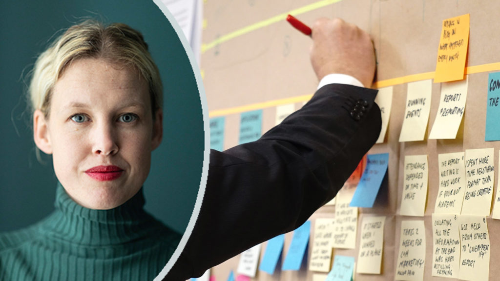 Anna Gullstrand lär dig få ut det bästa av gruppen i nya boken Facilitera.
