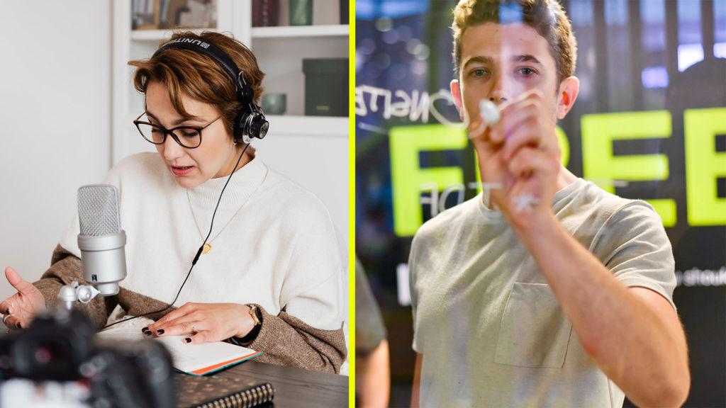 Röstdesigner och jobba hemifrån-koordinator är två yrken som spås komma i framtiden.