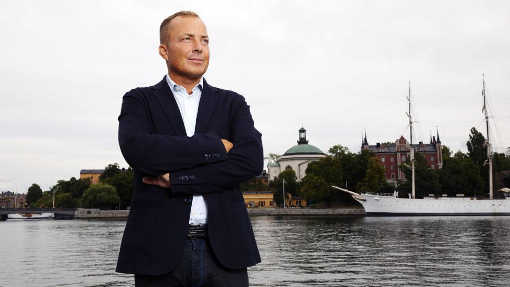 Fredrik Bengtsson gick in i väggen, utbildade sig till psykolog och har tagit fram ett rehabprogram för utmattningssyndrom. Foto: Martina Huber