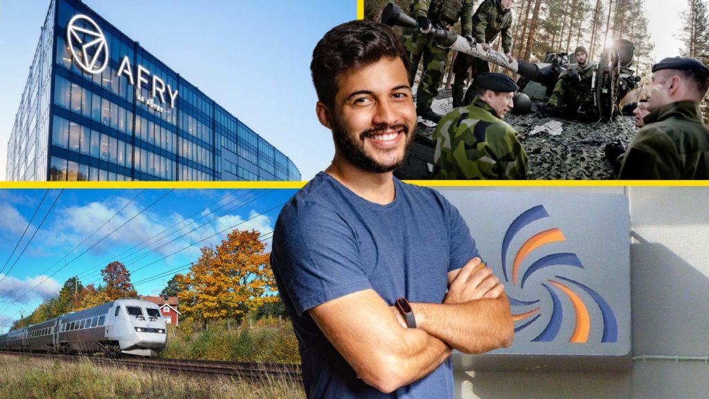 Afry, SJ, Försvarsmakten och Skatteverket är några av de mest populära arbetsgivarna bland unga i karriären