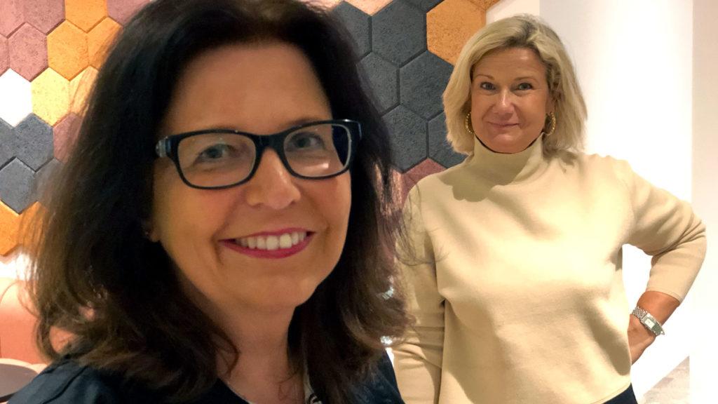 Maria Mindhammar, generaldirektör på Arbetsförmedlingen, intervjuas av Cissi Elwin, vd och chefredaktör på Chef