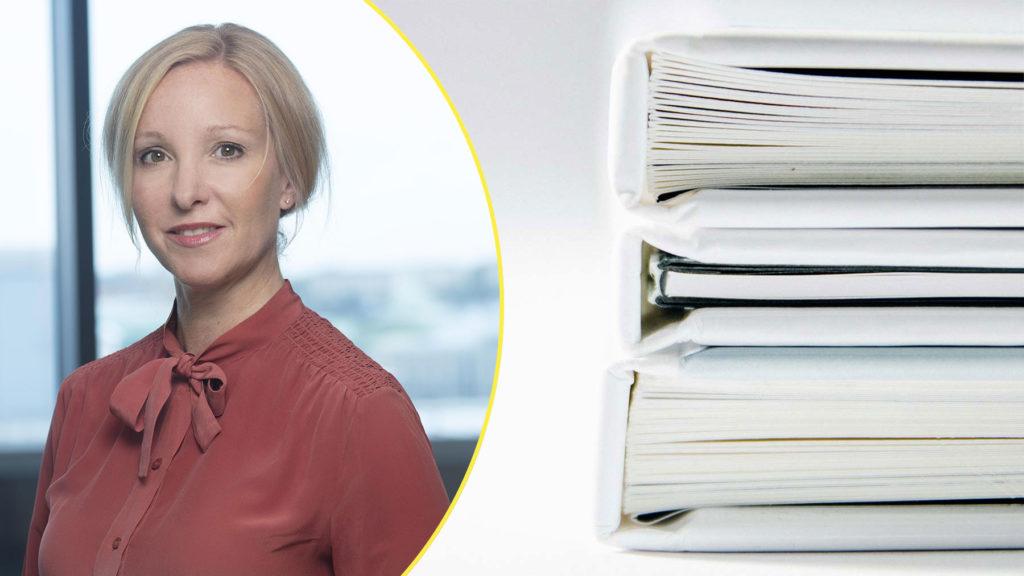 Charlotte Forssander, arbetsrättsexpert på Vinge