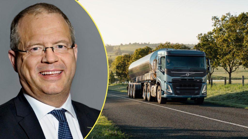 Martin Lundstedt, vd Volvo Group